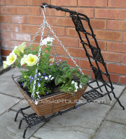 Buddi Three Hanging Basket Stand Basket Buddi