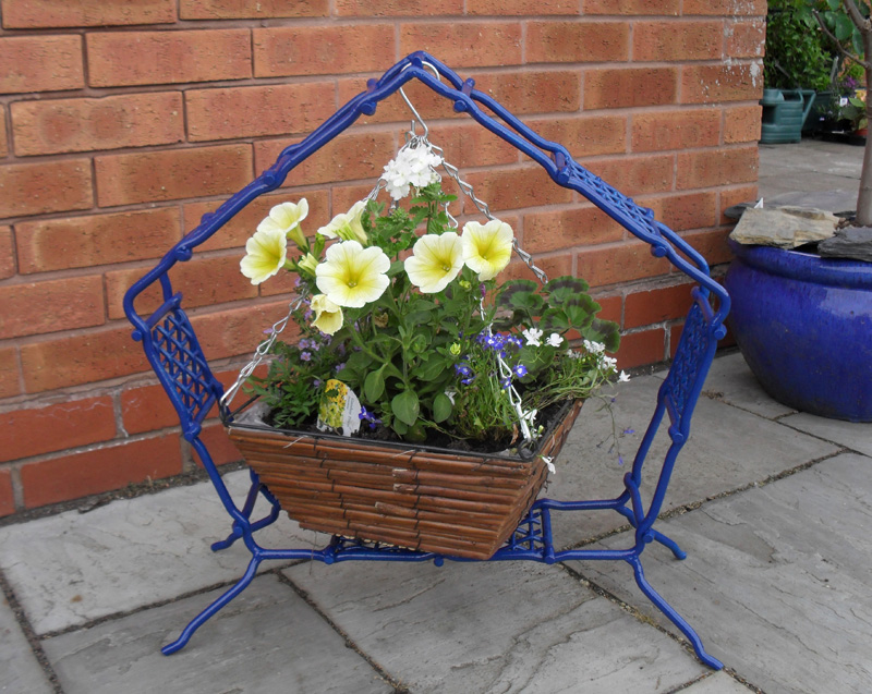 Basket Buddi Free Standing Hanging Basket Stands Made In The Uk