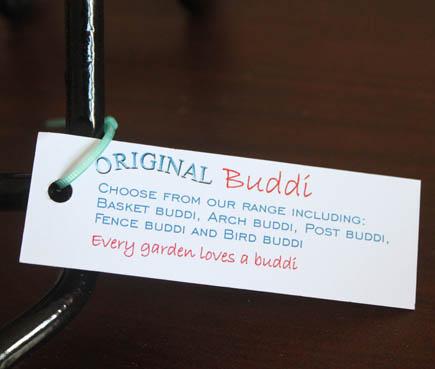 buddi label
