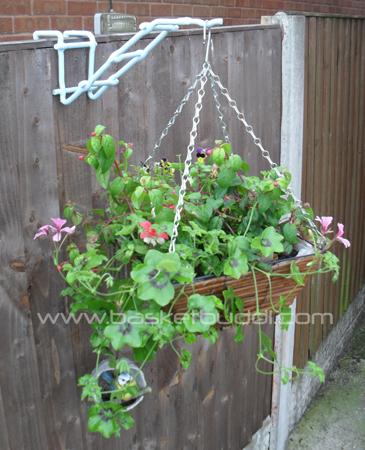 Fence Buddi hanging basket hangers